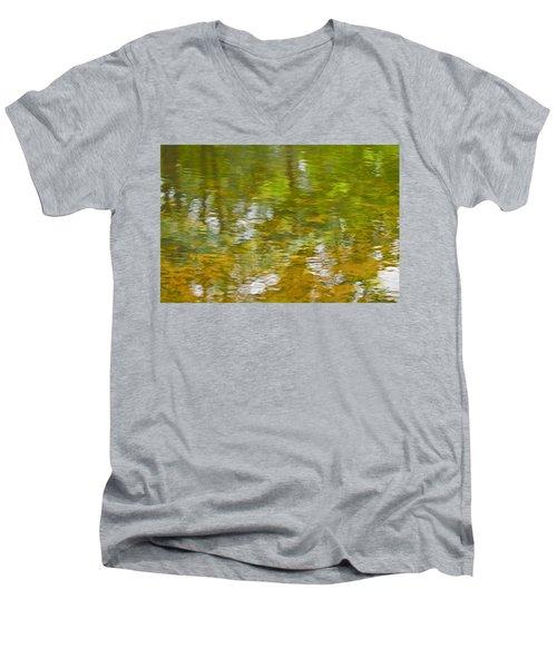 Autumn Reflections Men's V-Neck T-Shirt