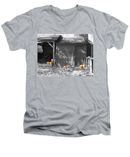 Autumn Rest Men's V-Neck T-Shirt
