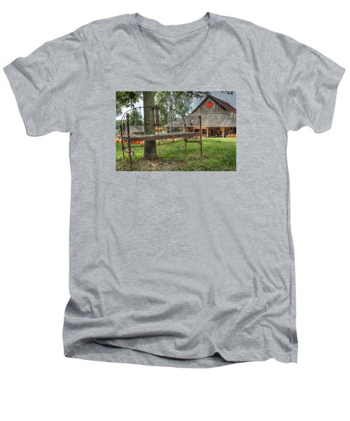 Autumn Retreat Men's V-Neck T-Shirt