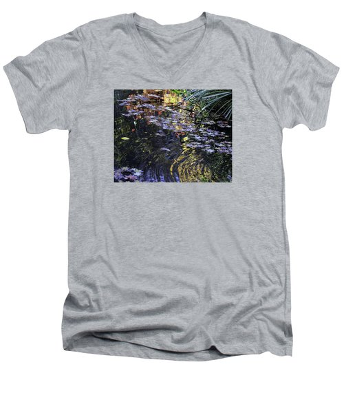 Autumn Ripples Men's V-Neck T-Shirt
