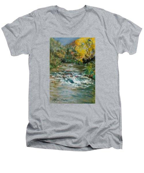 Autumn Rush Men's V-Neck T-Shirt