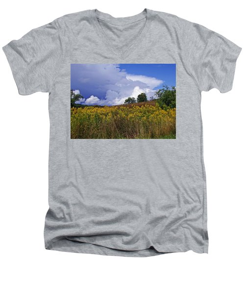 Autumn Skies Men's V-Neck T-Shirt