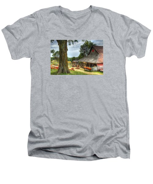 Autumn Splendor Men's V-Neck T-Shirt
