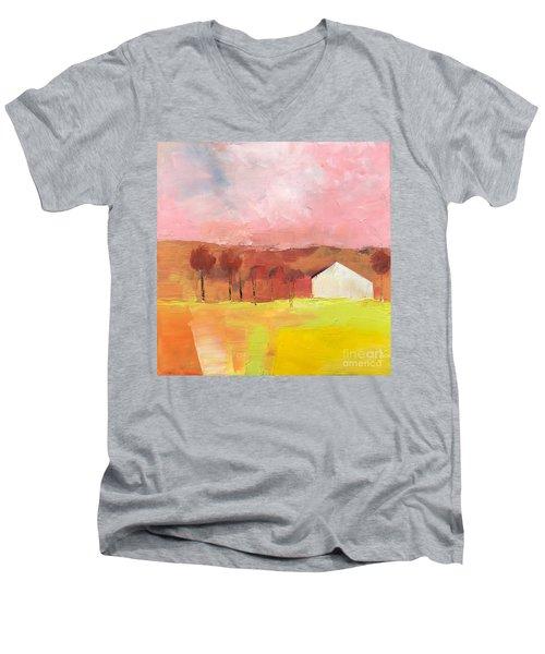 Autumn Stillness Men's V-Neck T-Shirt