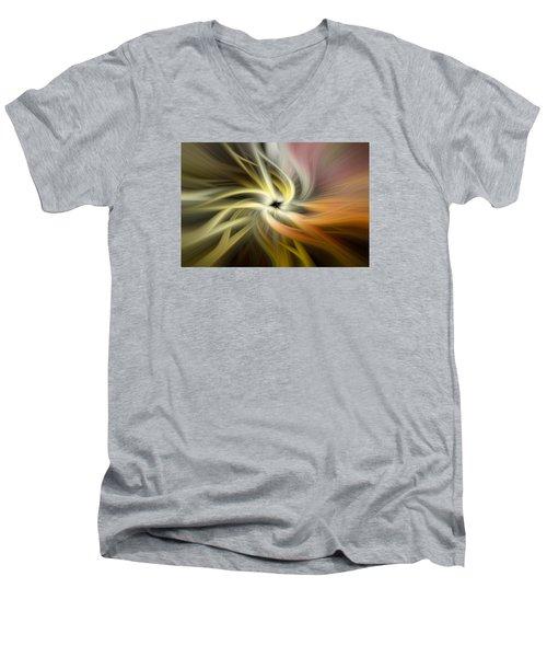 Autumn Swirls Men's V-Neck T-Shirt