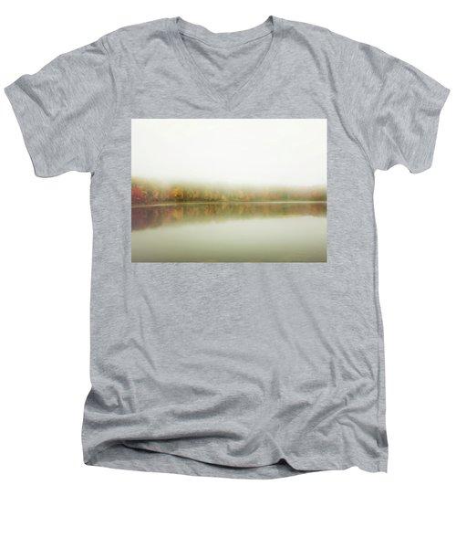 Autumn Symmetry Men's V-Neck T-Shirt