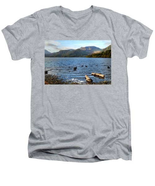 Autumn Ullswater  Men's V-Neck T-Shirt