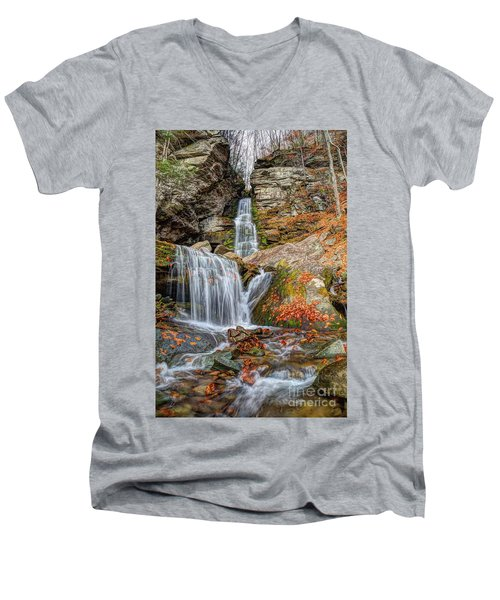 Autumns End Men's V-Neck T-Shirt