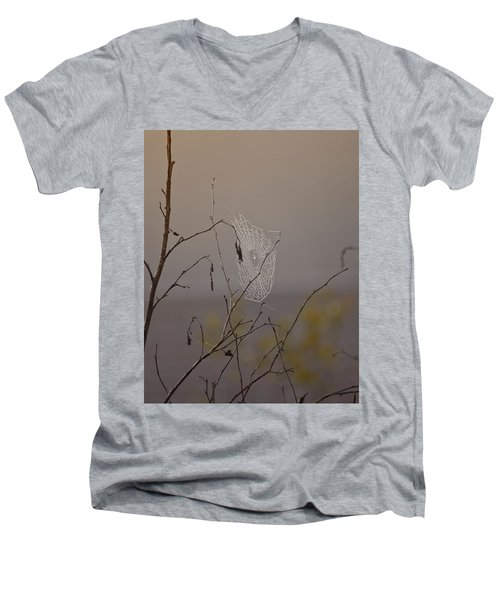 Autumns Web Men's V-Neck T-Shirt