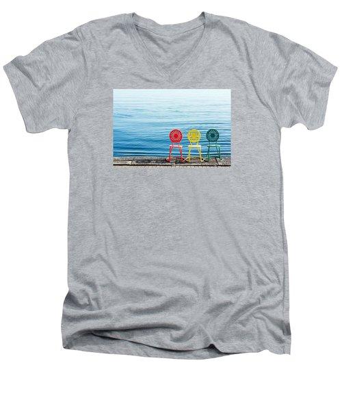 Available Seats Men's V-Neck T-Shirt