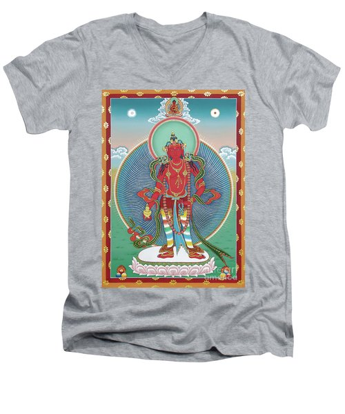 Avalokiteshvara Korwa Tongtrug Men's V-Neck T-Shirt