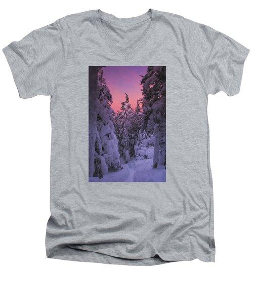 Avalon Sunset Men's V-Neck T-Shirt