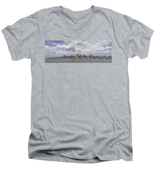 A View From New Jersey 1 Men's V-Neck T-Shirt