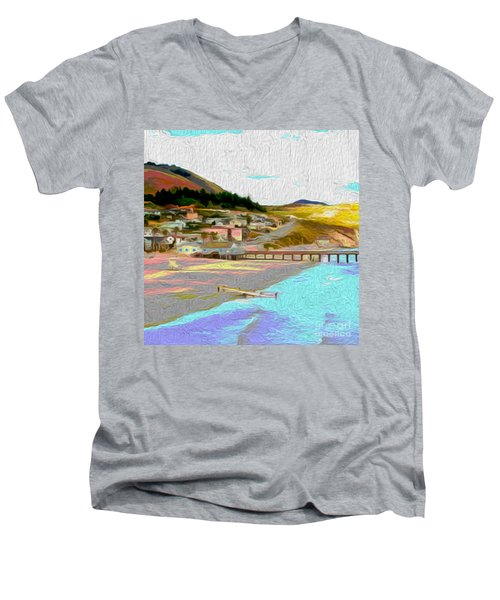 Avila Paddle Men's V-Neck T-Shirt