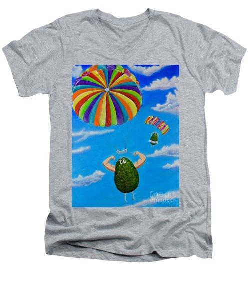 Avocado's From Heaven Men's V-Neck T-Shirt