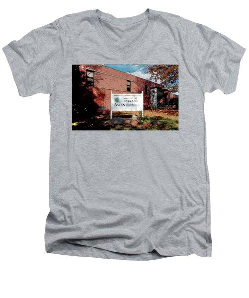 Avon High School Blg Men's V-Neck T-Shirt