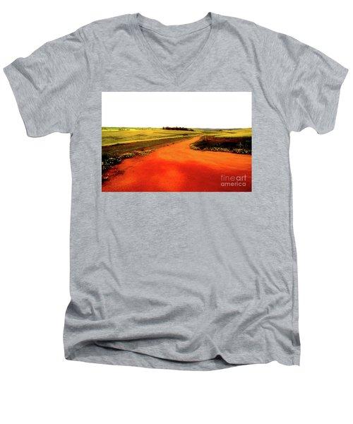 Avon Valley Pastures Men's V-Neck T-Shirt