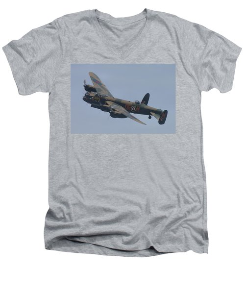 Avro Lancaster B1 Pa474  Men's V-Neck T-Shirt