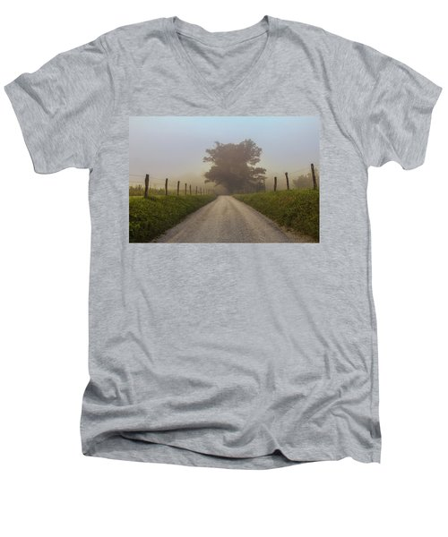 Awaiting The Horizon Men's V-Neck T-Shirt