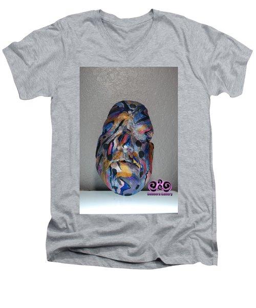 Awakend Men's V-Neck T-Shirt