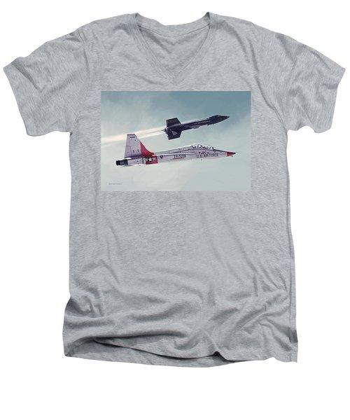 Away Men's V-Neck T-Shirt