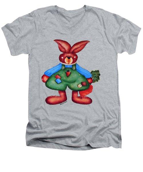 B Is 4bunny Men's V-Neck T-Shirt