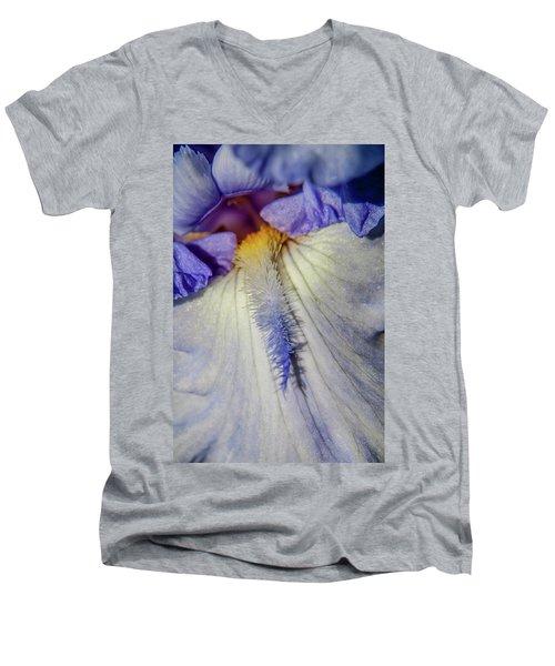 Baby Blue Men's V-Neck T-Shirt