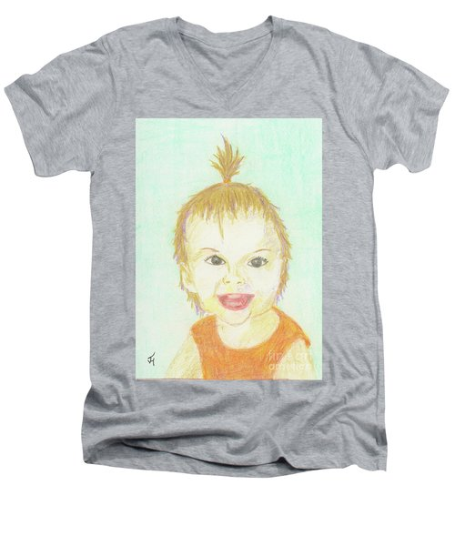 Baby Cupcake Men's V-Neck T-Shirt