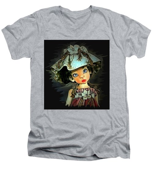 Baby Doll Collection Men's V-Neck T-Shirt