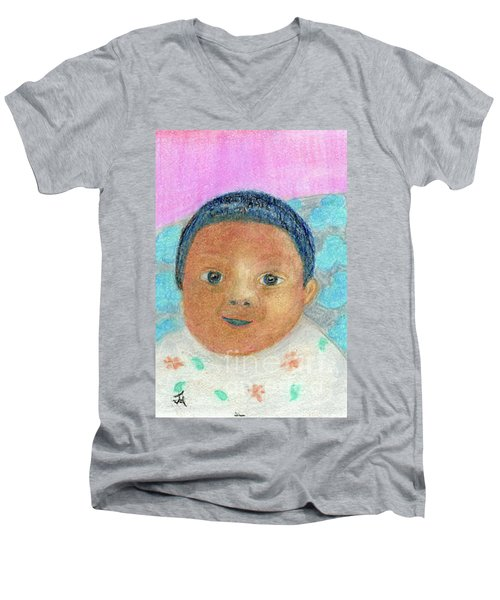 Baby Isabella Men's V-Neck T-Shirt