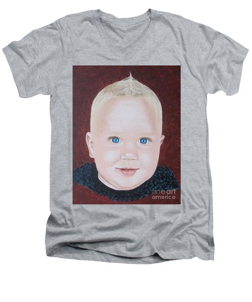 Baby Men's V-Neck T-Shirt by Jeepee Aero