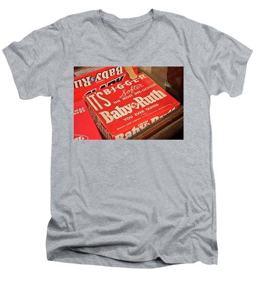 Baby Ruth Men's V-Neck T-Shirt