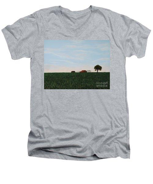 Back 40 Men's V-Neck T-Shirt
