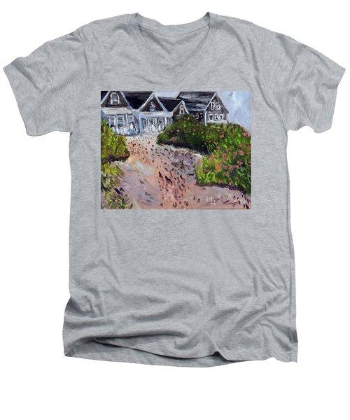Back From The Beach Men's V-Neck T-Shirt
