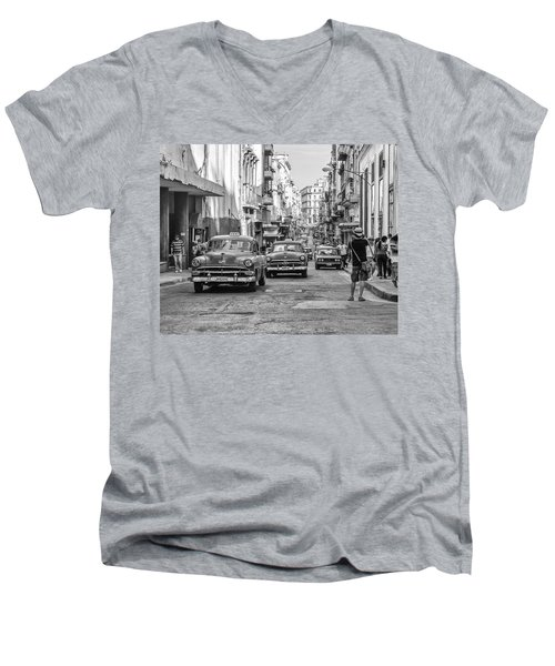 Back To The Past Men's V-Neck T-Shirt