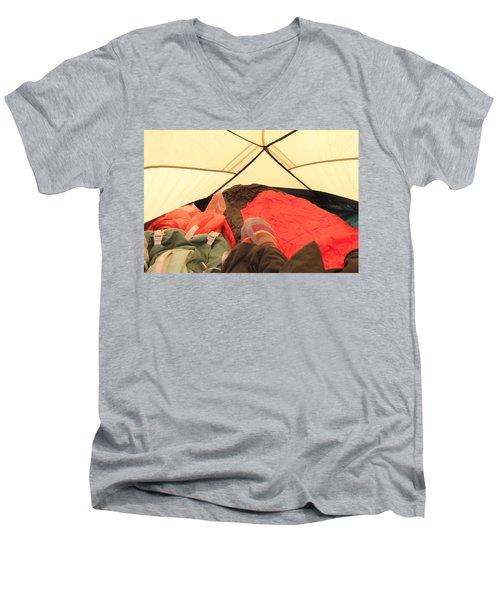 Backpacking Moments Men's V-Neck T-Shirt