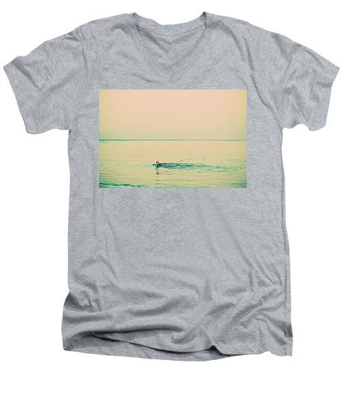 Backstroke Men's V-Neck T-Shirt