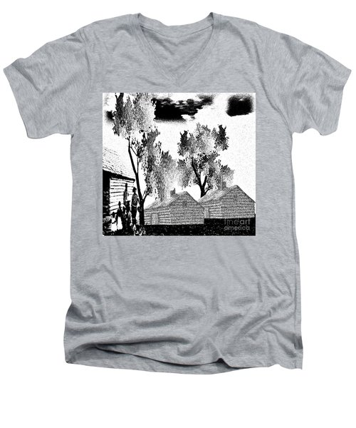 Backwoods Men's V-Neck T-Shirt