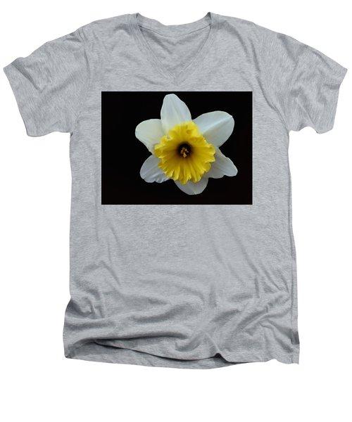 Backyard Flower II Men's V-Neck T-Shirt