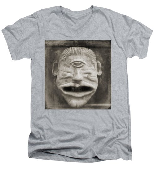 Bad Face Men's V-Neck T-Shirt