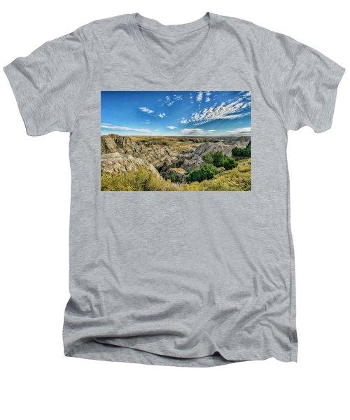 Bad Lands South Dakota.... Men's V-Neck T-Shirt