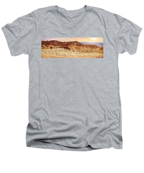Badlands Formation Men's V-Neck T-Shirt