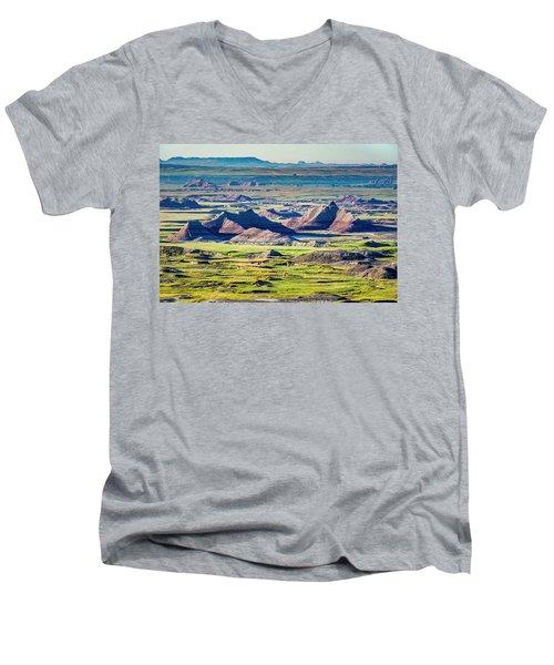 Badlands National Park Men's V-Neck T-Shirt
