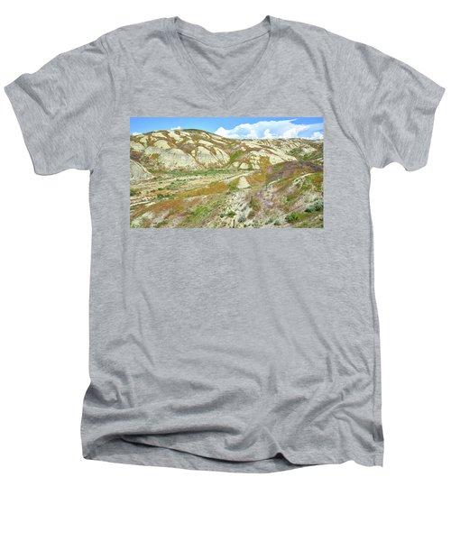 Badlands Of Wyoming Men's V-Neck T-Shirt