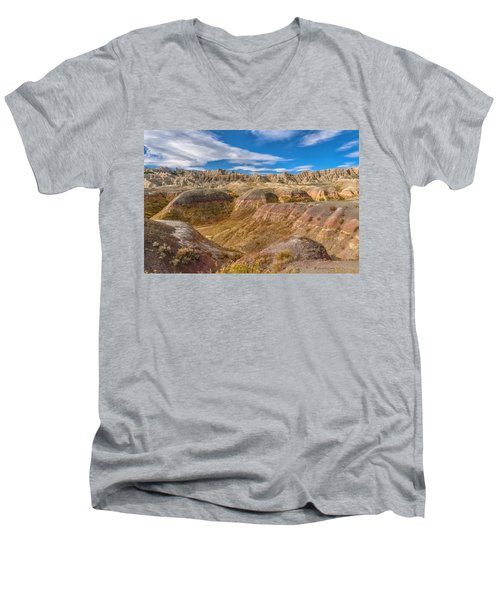 Badlands South Dakota Men's V-Neck T-Shirt