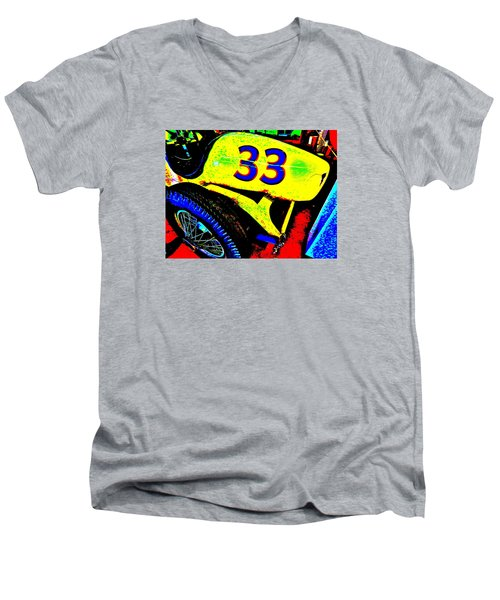 Bahre Car Show II 34 Men's V-Neck T-Shirt