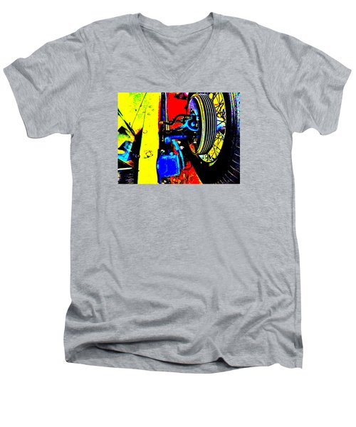 Bahre Car Show II 37 Men's V-Neck T-Shirt