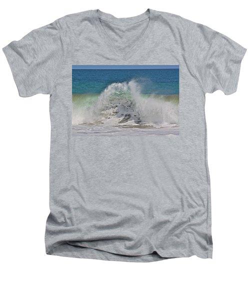 Baja Wave Men's V-Neck T-Shirt
