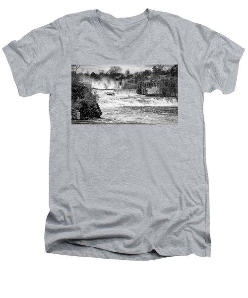 Bakers Falls Men's V-Neck T-Shirt