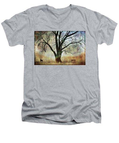Balance And Harmony Men's V-Neck T-Shirt